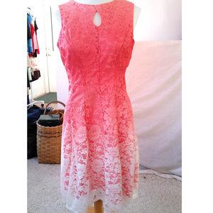 Lace Ombre Dress